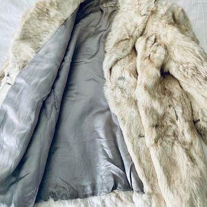 The Membership Jackets & Coats - Vintage Winter White Fur Coat